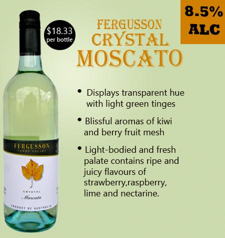 Fergusson Crystal Moscato