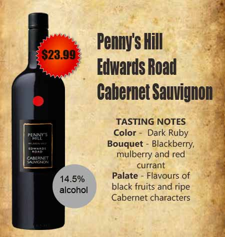 Penny's Hill Edwards Road Cabernet Sauvignon