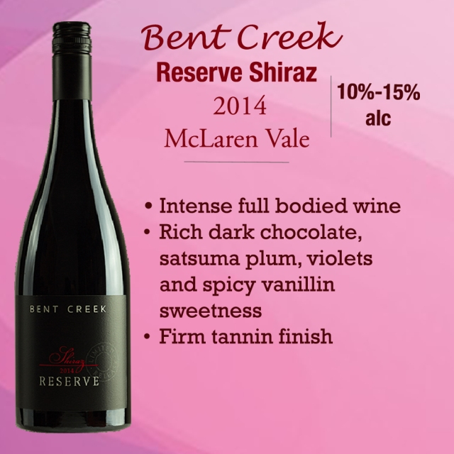 Bent Creek Reserve Shiraz BLG