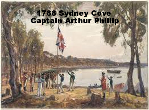 1788 sydney cove Captain Arthur Phillip