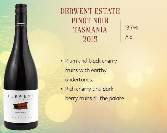 Derwent Estate Pinot Noir Tasmania 2015