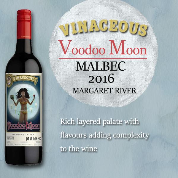 Vinaceous Voodoo Moon Malbec